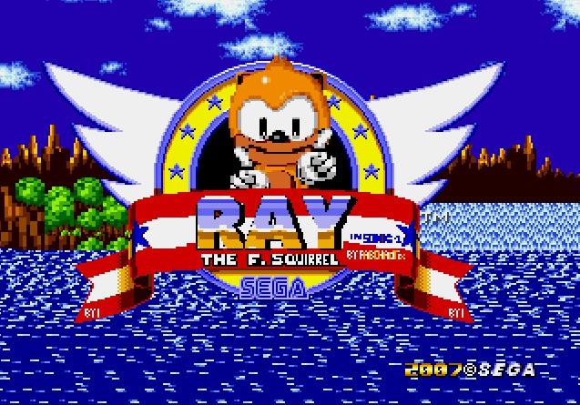 Ray es una ardilla voladora, que tiene casi los mismos poderes que Knuckles.
