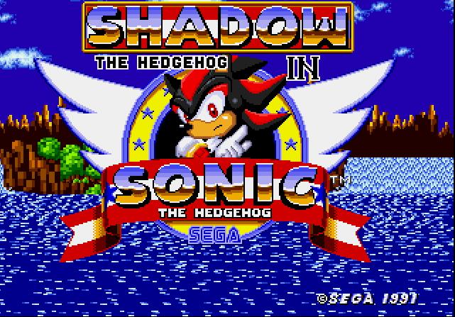 """La versión """"sombra"""" de Sonic dice presente."""