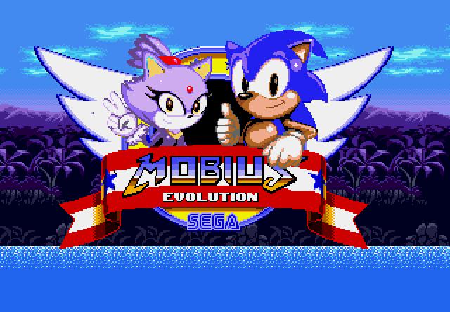 Mobius y Sonic, un solo corazón