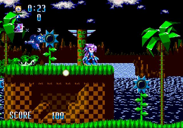 Lilac, la personaje principal del juego Freedom Planet , en una excelente modificación. Freedom Planet, por si no lo sabes, es un hermoso homenaje a Sonic, que se puede comprar en Steam y que fue desarrollado por personas que estuvieron trabajando en estas modificaciones.