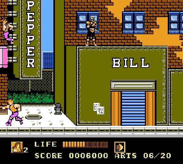 Este juego es buenísimo, típico plataformero de acción de NES pero con personalidad propia