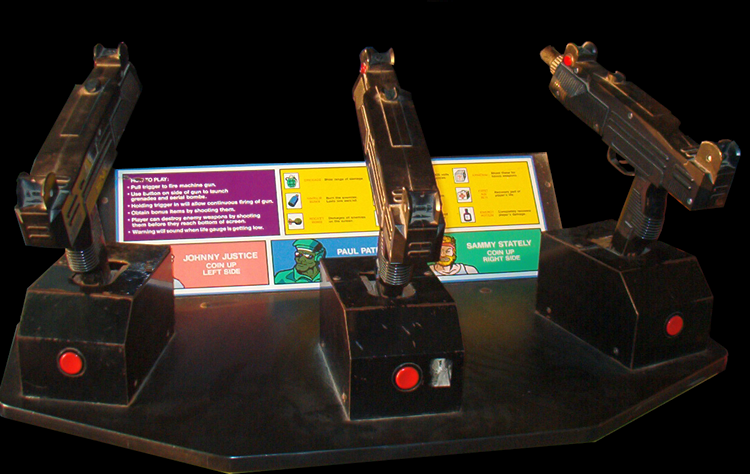 Las míticas tres ametralladoras de Beast Busters