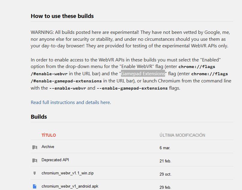 Los pasos a seguir para instalar la plataforma en los navegadores Web