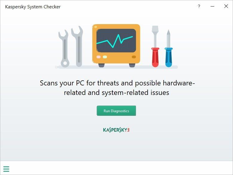 Resultado de imagen de Kaspersky System Checker