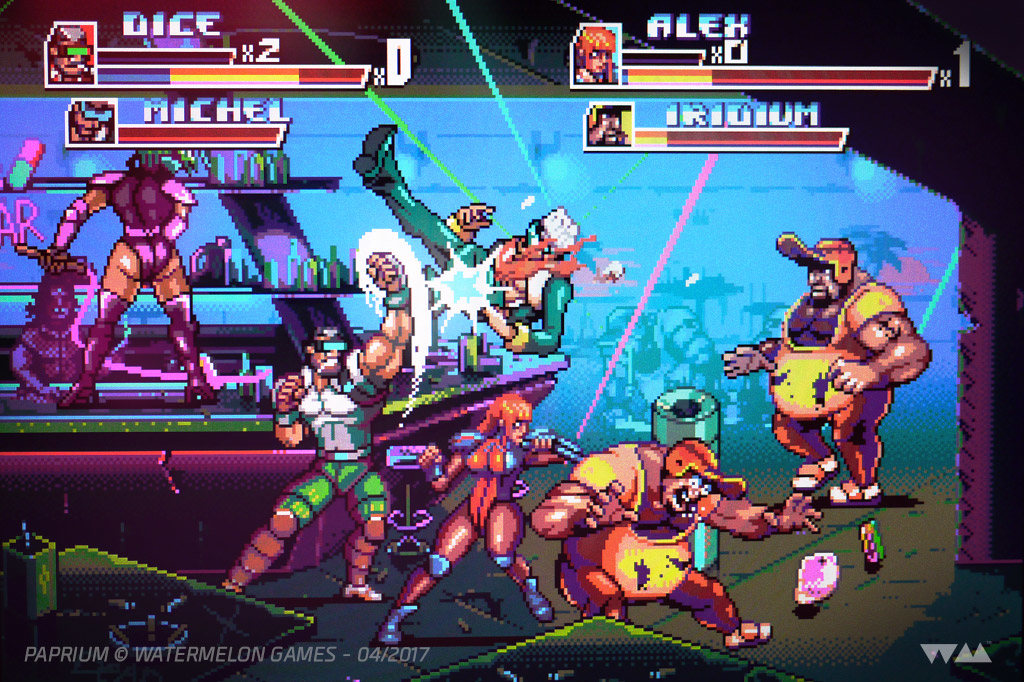 Paprium Un Nuevo Juego Para Sega Genesis Estilo Streets Of Rage