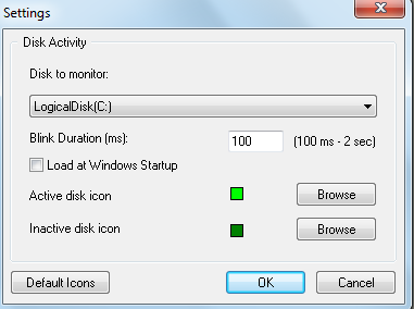 Te permite configurar el icono