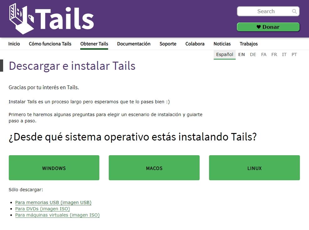entrar a la Deep Web con Tor