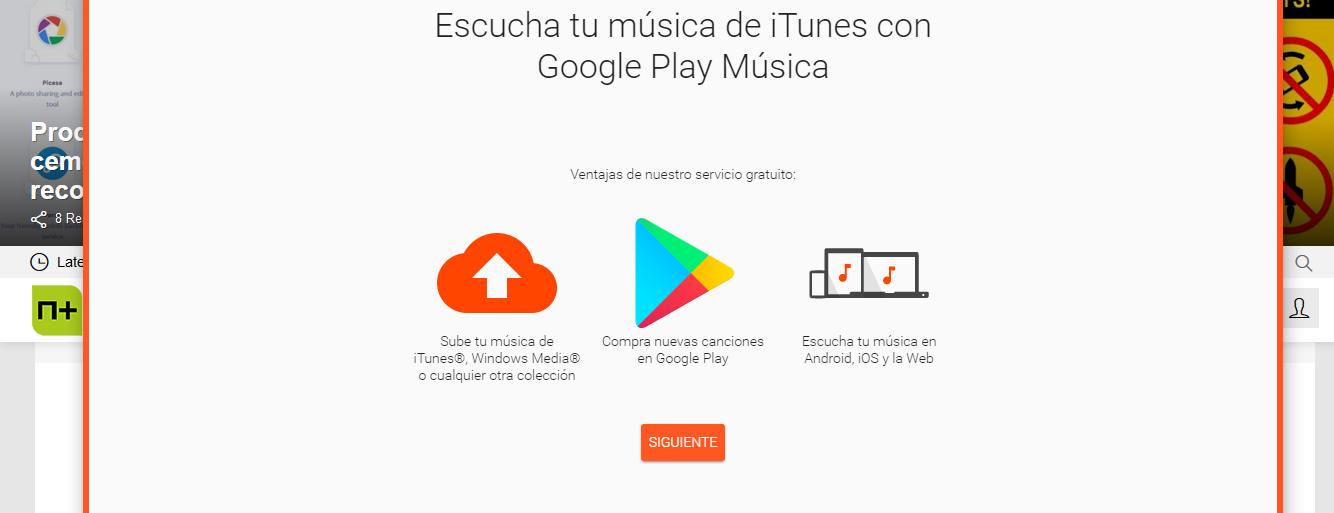 Servicios de música