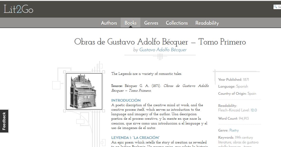 Gran cantidad de libros en castellano