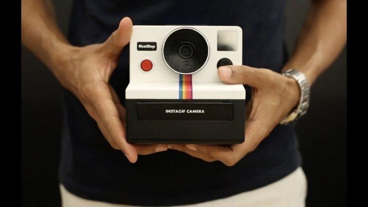 34d548cf0 Instagif  Una cámara DIY que imprime GIFs de forma instantánea - NeoTeo
