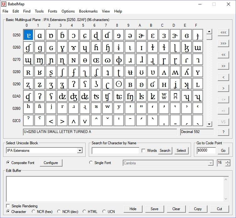 BabelMap: Excelente mapa de caracteres para Windows - NeoTeo