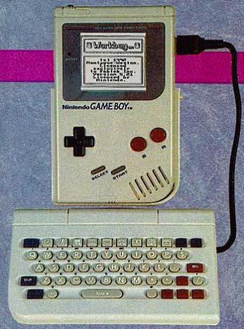 WorkBoy 1 WorkBoy: El accesorio perdido de Game Boy que lo hubiese convertido en un PDA