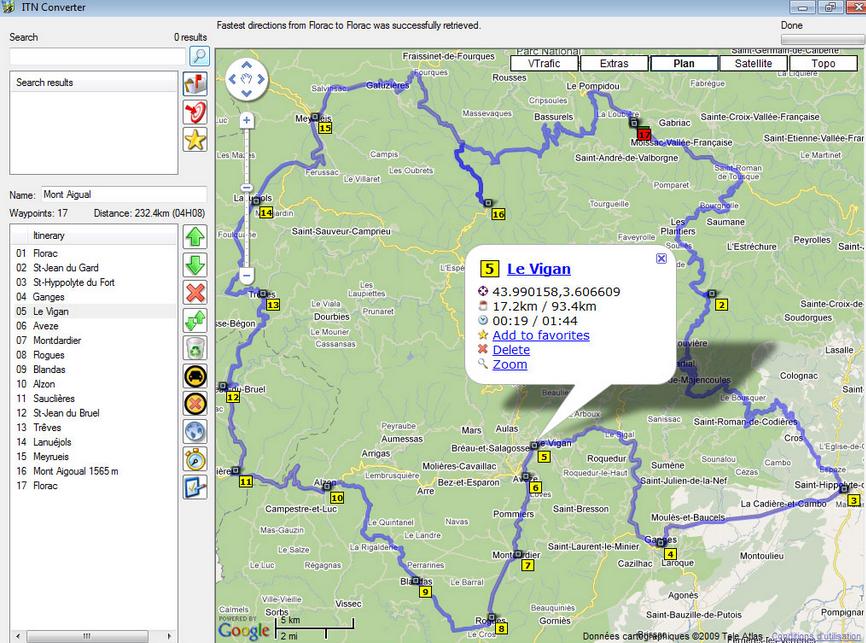 Convertidor de archivos GPS