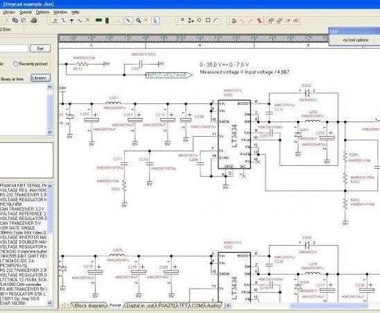 Caja de herramientas complicada de entender