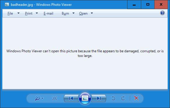 reparar imágenes JPEG