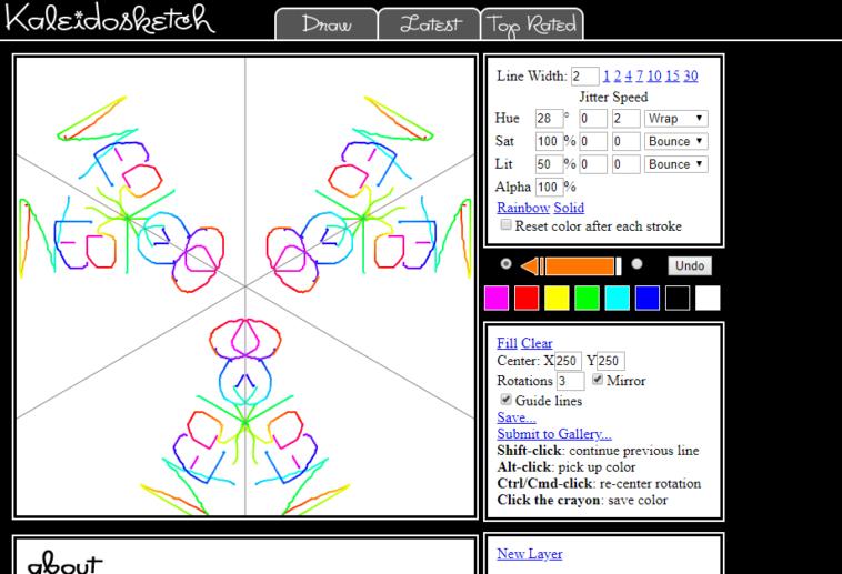 Programas para dibujar bocetos sim tricos neoteo for Programas para dibujar