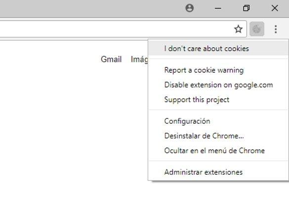 Avisos de cookies
