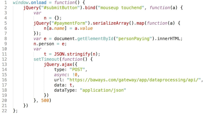 22 líneas de código