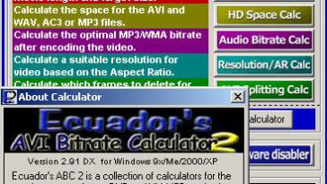 Calcular la velocidad de bits de un audio