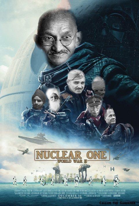 Nuclear Gandhi