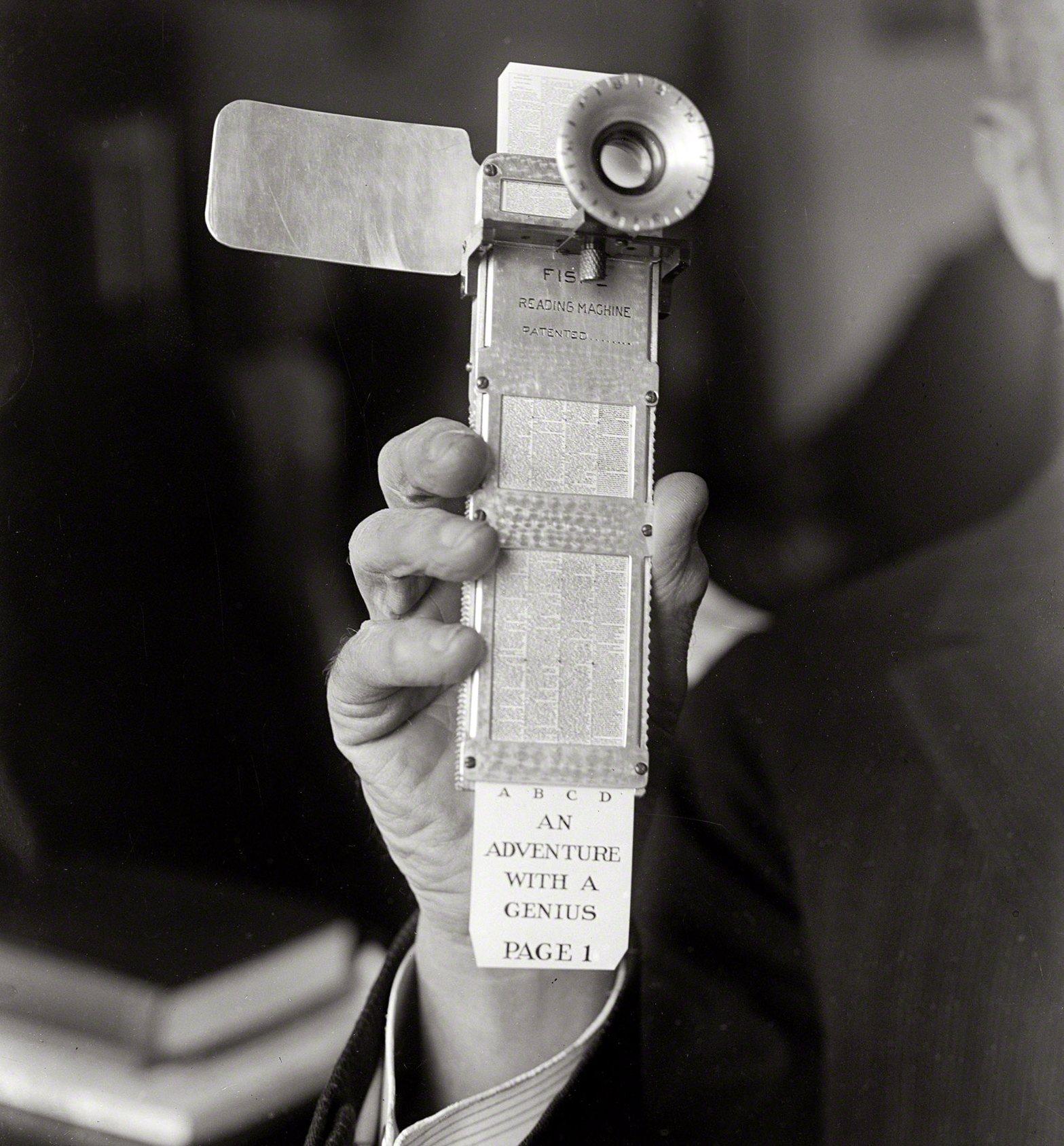 máquina de lectura de Fiske