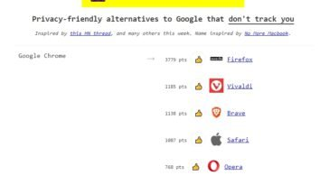 Alternativas a Google y sus servicios