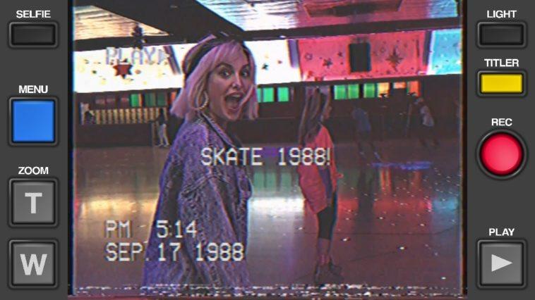 Graba un vídeo con los efectos del VHS