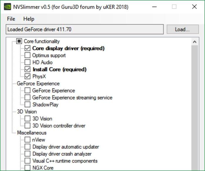 Cómo eliminar el bloatware de los controladores Nvidia