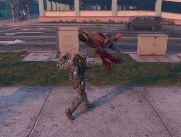GTA V Predator: Mod para GTA V nos deja jugar como el