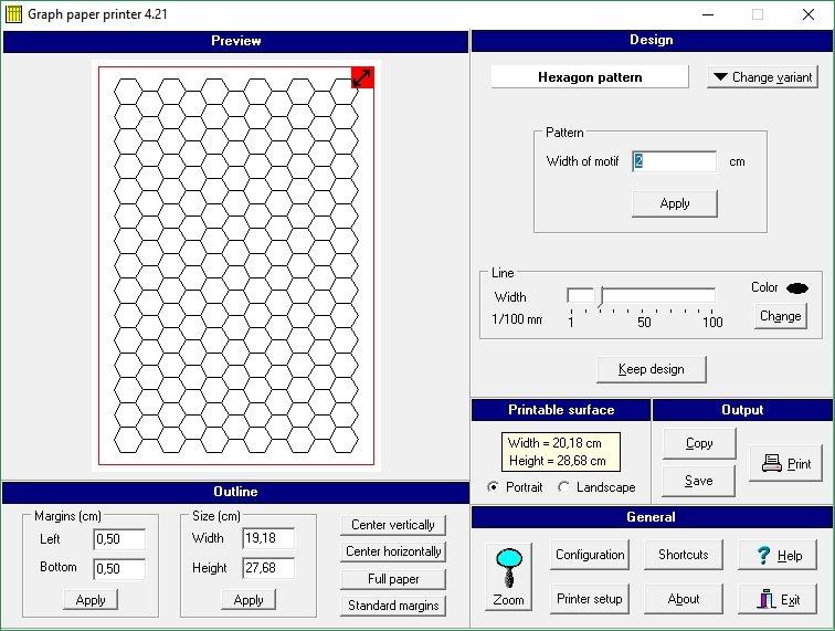 Cómo imprimir patrones
