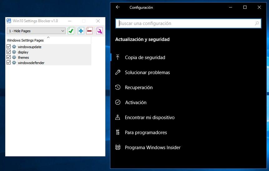 Cómo bloquear funciones en Windows 10