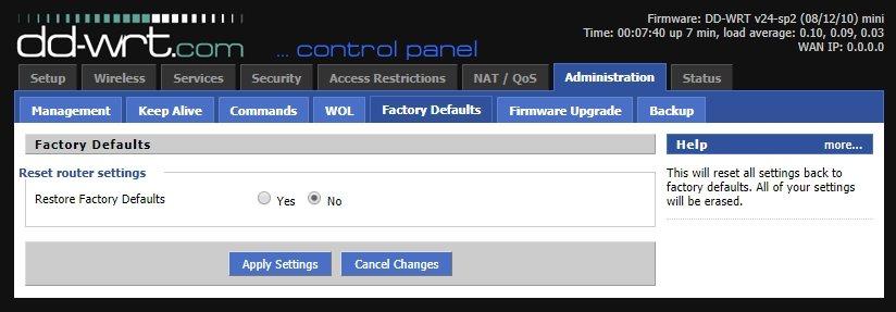 Cómo instalar DD-WRT