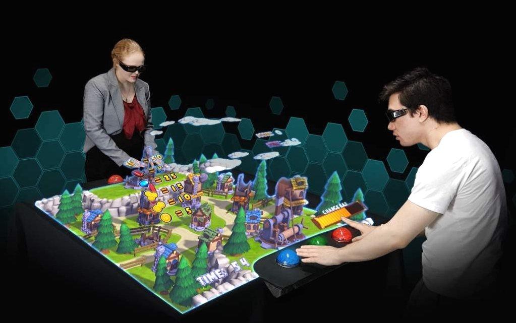 recreativas holográficas