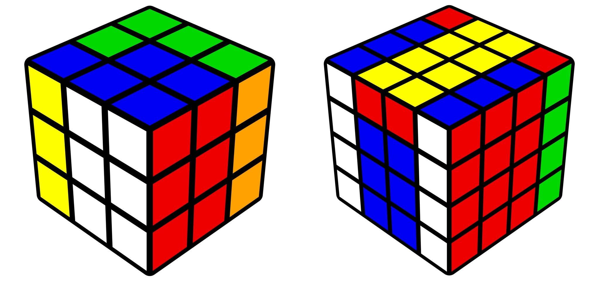 Cómo generar imágenes de cubos Rubik