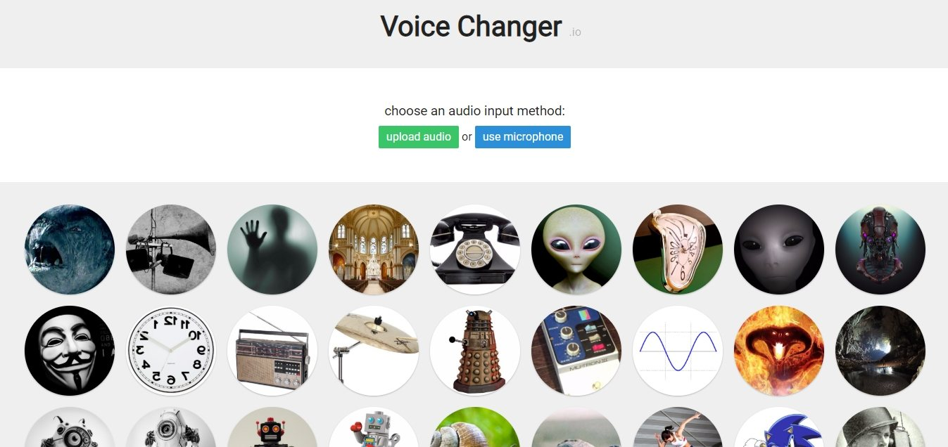 cambiar la voz