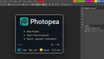 Editor de gráficos vectoriales