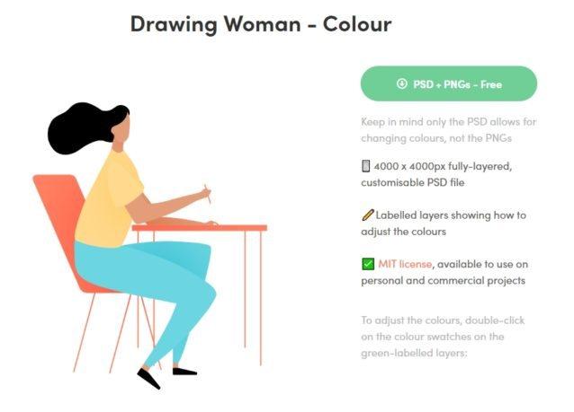 Ilustraciones gratuitas y libres