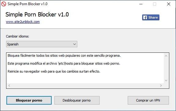 bloquear el acceso a sitios pornográficos