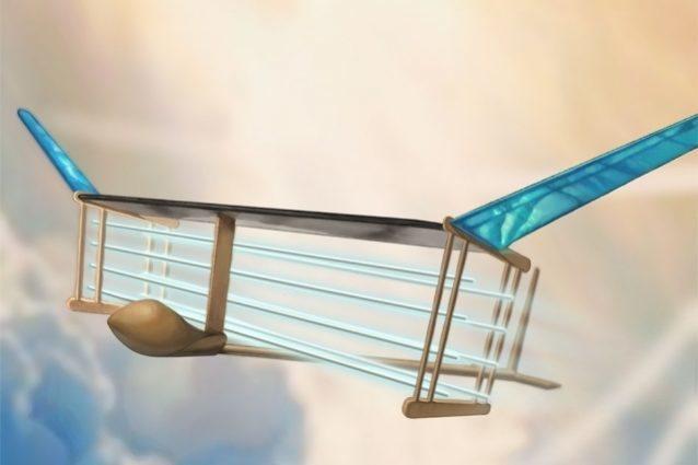 avión iónico