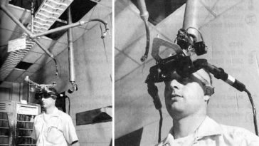 El primer casco de realidad virtual