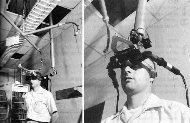 El primer casco de realidad virtual