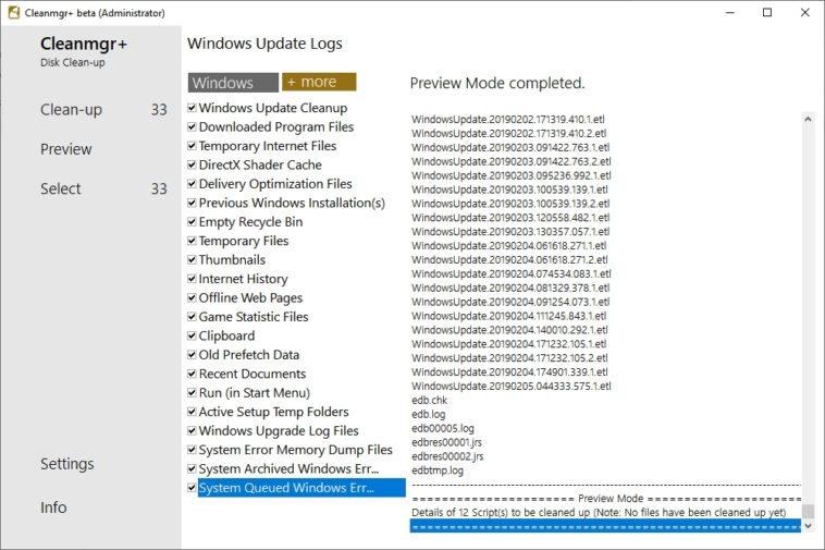 limpiar a Windows 10