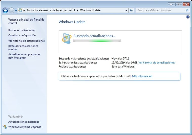 Cómo reparar Windows Update en Windows 7