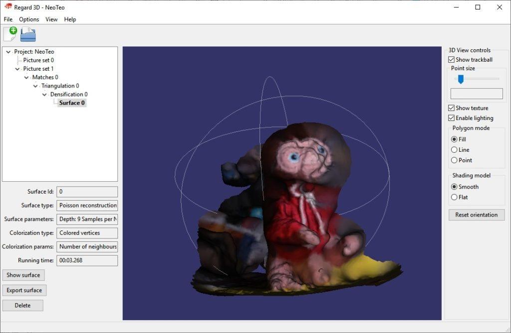 Yo sé que E.T. parece tener un exceso de «equipamiento» entre las piernas, pero no. Son sus patas deformadas por el modelo.
