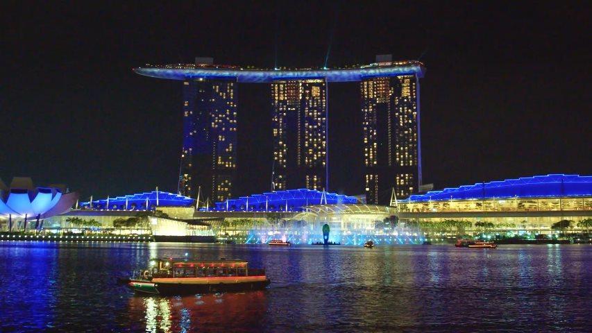 Las noches en Singapur pueden ser geniales
