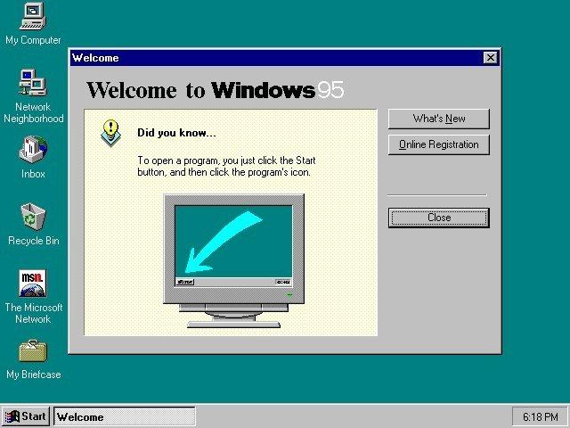 speedrun de windows 95