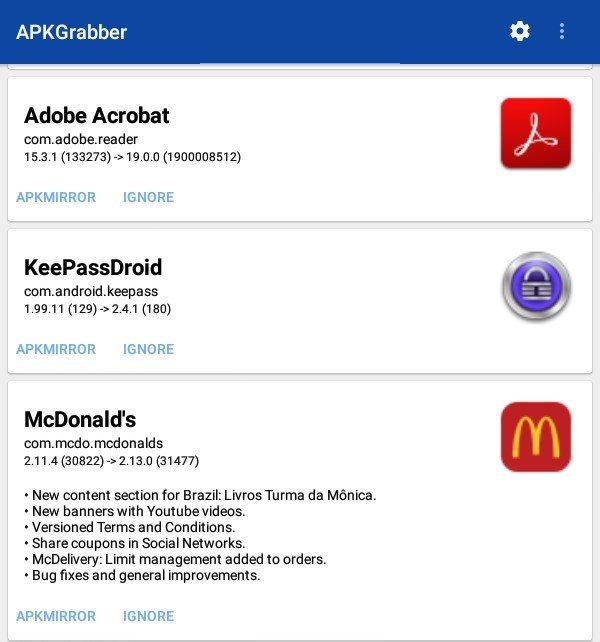 cómo descargar y actualizar apps de android