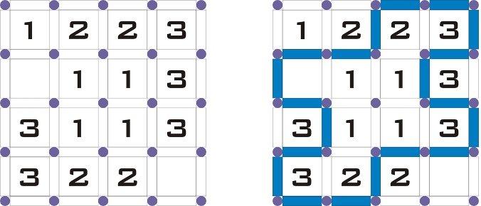 Un simple ejemplo de 4 x 4