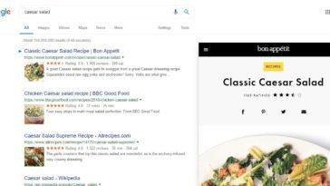 Google sin hacer clic