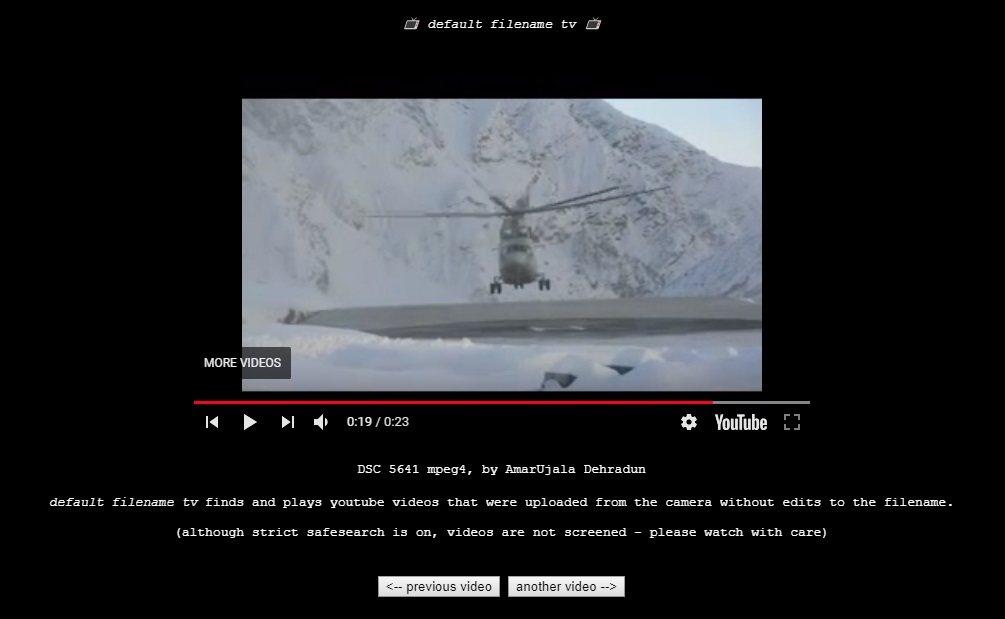 ¿Alguien que reconozca a ese helicóptero...?